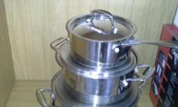 Stainless steel New condition Visit Bargain Box at c/o