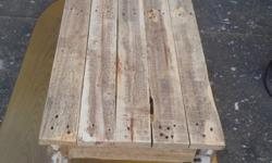 Rustic pine Table 1200 x 500 x 400 H R550 Photo 1,2,3 &