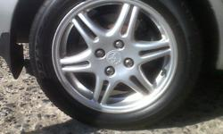 I have a set of RXI rims with tyres for sale or swap