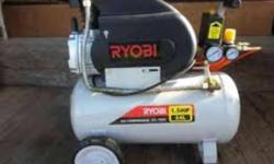 Brand new ryobi air compressor brand new never been