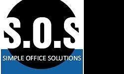 (SOS) Simple Office Solutions We provide On-Site
