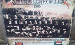 SA Ruby football team 1906 very collectable A3 size one