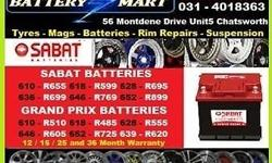 SABAT BATTERY DEALS  PLEASE SEE ADVERT ATTACHED  PLEASE