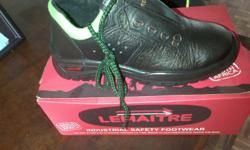 brand new safety boots Lemaitre at R200 size 7.