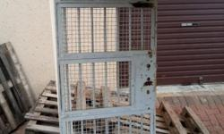 Safety gate for sale. Recovered from an old jail.  No