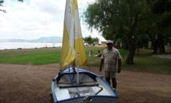 Length overall: 3.1m (3.3m with bowsprit) Beam: 1.3 m 3