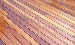 Beautiful local Saligna decking to transform your
