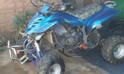 Sam Bashan 200cc Quad For Sale. Manual with lot of