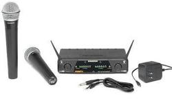 The Concert 277 is a dual channel true diversity UHF