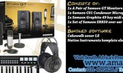 On special this May, is the Samson Studio GT Pro (music