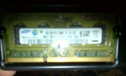 Samsung ddr 2 1gig ram for R150 in working order for