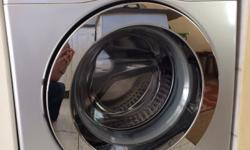 Samsung 7kg Eco Bubble Washing machine Silver Front