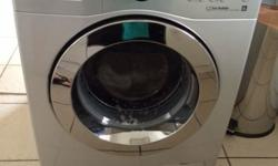 Samsung 7kg silver washing machine. Very good condition