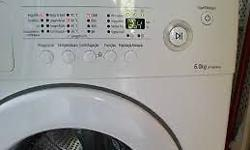 Samsung WF7600NAW Front loader washing machine for