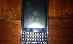 Samsung Galaxy Chat, hardly used, fully functional,