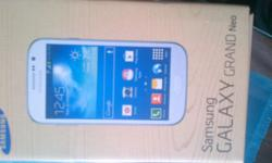 Brand new Samsung Galaxy Grand Neo White for sale.