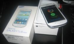 Samsung Galaxy S3 Mini (Marble White) Original Box
