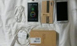 Item : Samsung Galaxy S4 - White Age : +- 10 Month's