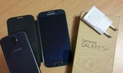 Samsung Galaxy S4 for sale, in exellent condition, at