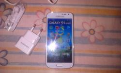 new samsung galaxy s4 mini, with the box and all the