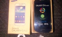 new Samsung galaxy s4 mini, box and accessories getting