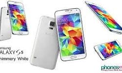 Used samsung galaxy S5 in immaculate condition box and