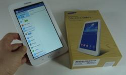 "SAMSUNG GALAXY TAB 3 7"" Lite - 3G/Wifi in white"