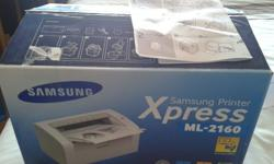 Samsung Printer Mono laser. In working condition and