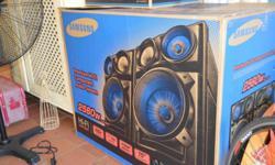 Samsung Premium Hi-Fi Component Audio System Giga Sound System for