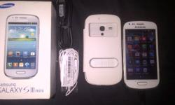 samsung s3 mini for sale .... phone is in good