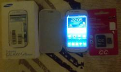 Samsung S3 Mini White Box All Accessories Lovely Phone