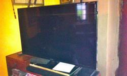 40' flat screen, Samsung as good as new. perfect