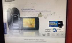 Samsung video cam in the box sell or swop swap