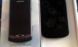 Beskrywing 11 month old, hardly used samsung wave. incl