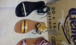 Genuine leather sandals for sale
