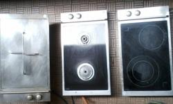 These three separate SCHOTT appliances measure 5ccm x