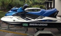 Spotless Sea Doo GTX155 Jetski. Three seater. Only 50