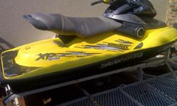 Seadoo XP Jet ski- Model 2000. Hardly used.