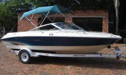 Sea Ray 190 Signature with a Mercruiser V8 fuel