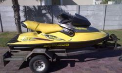 Seadoo 951 Jetski on licenced trailer 1998 model with