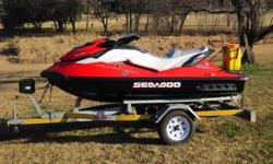2011 SEADOO GTI SE 130 with IBR and Closed loop cooling