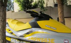SEADOO - GTI SE 155HP - COLOUR YELLOW, GALVANISED BREAK