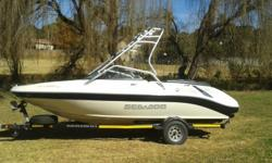 2008 Seadoo Uthopia 205se 430hp twin supercharged
