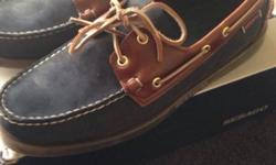 Hi I have a new Sebago dockside for sale Navy blue and