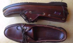 Unworn Sebago Docksides purchased in the US. Reason for