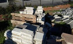 We are selling second hand cement paving slabs 300 x
