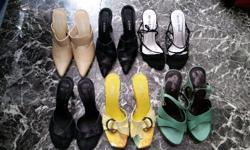 Second hand shoes for sale: 6 pairs @ R500 all to go.
