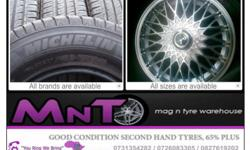 Second Hand Tyre @ A Good Price.((D02) All Tyre 60-65%