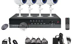 DIY DVR CCTV System (Plug and Play) No specialised