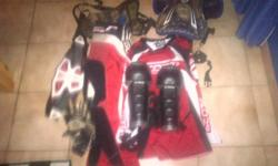 Selling my kit hardly used pants shirt chest protector